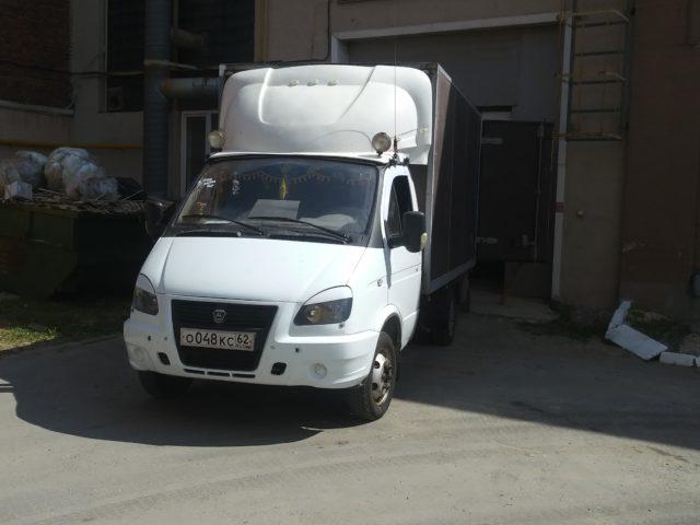 Доставка грузов на газели