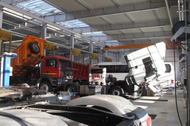 Ремонт спецтехники и грузового автотранспорта