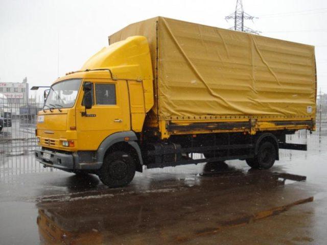 Грузоперевозки КАМАЗ 4308 по городу, области, РФ